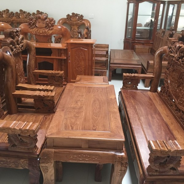 triện tay 12 gỗ hương